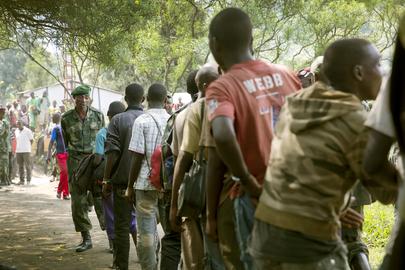 Rebel Forces Surrender to FARDC
