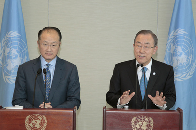 Secretary-General and World Bank President Brief on Sustainable Energy Financing