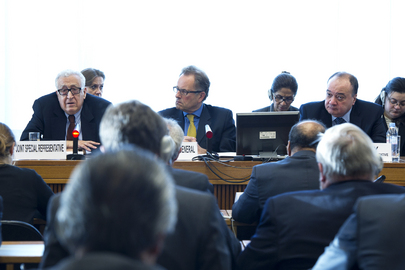 Special Representative for Syria Speaks at Geneva Executive Briefing