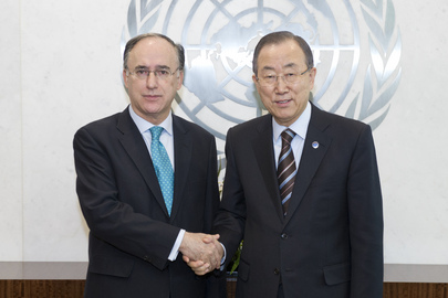 Permanent Representative of Spain Pays Farewell Call