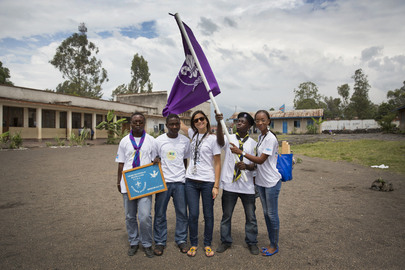 Volunteer Day in Goma, DRC