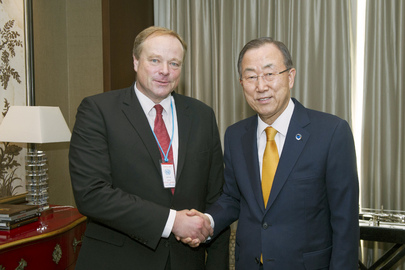 Secretary-General Meets German De¬vel¬op¬ment Minister