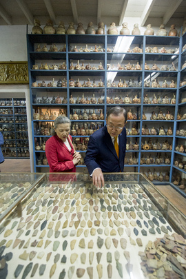 Secretary-General Visits Larco Museum in Lima