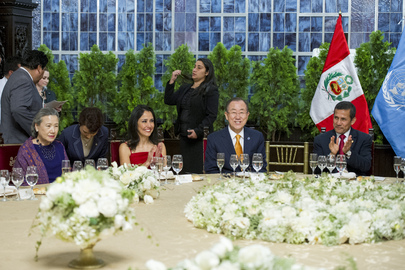 Secretary-General at Dinner Hosted by Peruvian President