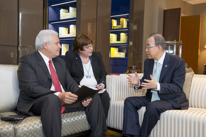 Secretary-General Interviewed by Peruvian Newspaper La República