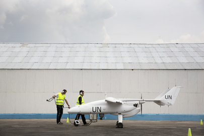UN Peacekeeping Chief Launches UAV Project in Goma