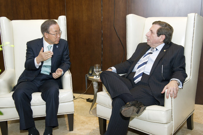 Secretary-General Meets Foreign Minister of Panama