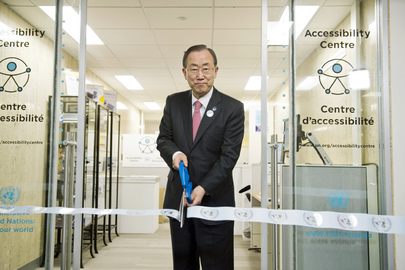 Inauguration of UN Headquarters Accessibility Centre