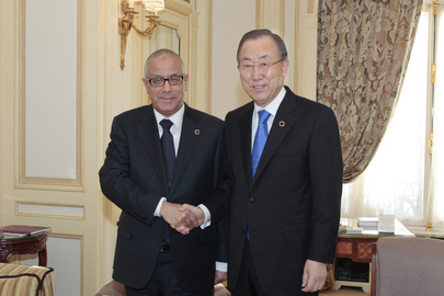 Secretary-General Meets Prime Minister of Libya