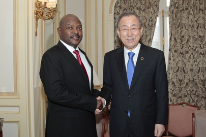 Secretary-General Meets President of Burundi