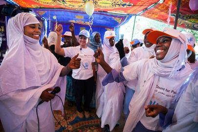 UNAMID Organizes Campaign against Gender Violence