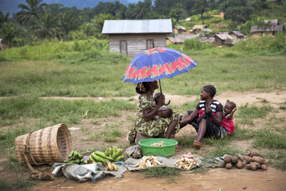 Residents of Pinga, North Kivu Province
