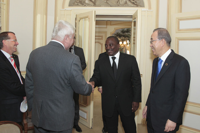 Secretary-General Meets President of Democratic Republic of the Congo