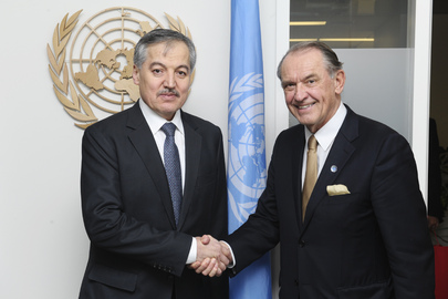 Deputy Secretary-General Meets Foreign Minister of Tajikistan
