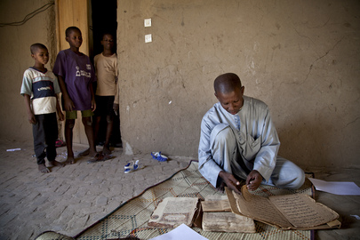 Ancient Manuscripts in Timbuktu, Mali
