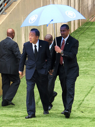 Secretary-General Pays Tribute to Mandela