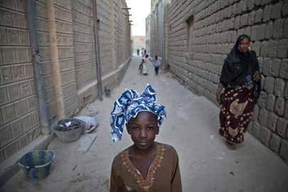 Residents of Timbuktu, Mali