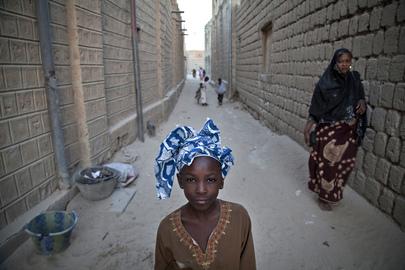 Residents of Timbuktu, Mali