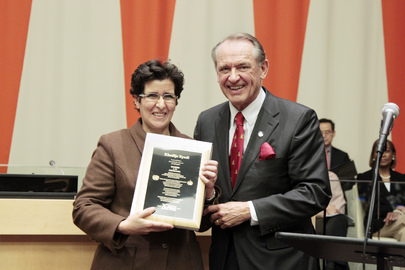 Award Ceremony and Commemoration of 65th Anniversary of Rights Declaration
