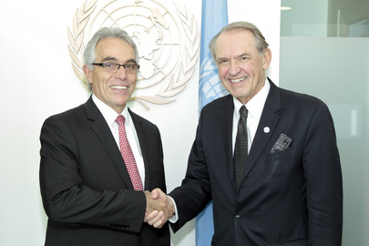 Deputy Secretary-General Meets President of Inter-American Court of Human Rights