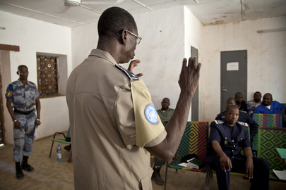 UNPOL Conducts Police Training on Drug Trafficking in Mali