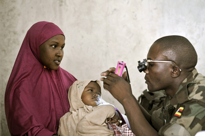 Outpatient Day for Civilians at AMISOM Medical Clinic