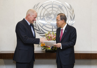 Secretary-General Receives Report of UN Investigation on Possible Use of Chemical Weapons in Syria