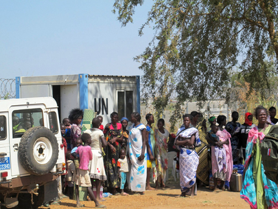 Civilians Seek Protection after Fighting in Juba
