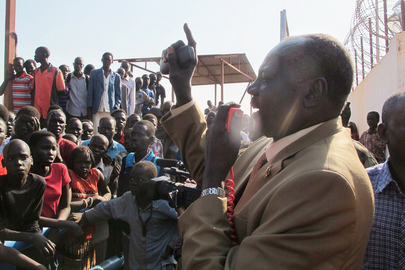 South Sudanese Civilians Seek Refuge at UN Compounds in Juba