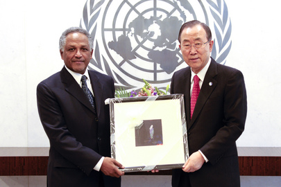 Farewell Call by Permanent Representative of Sudan