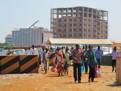 Displaced Citizens Seek Refuge at UNMISS