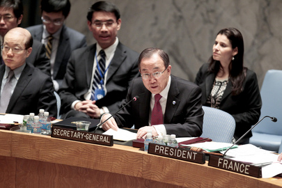 Security Council Discusses UNDOF