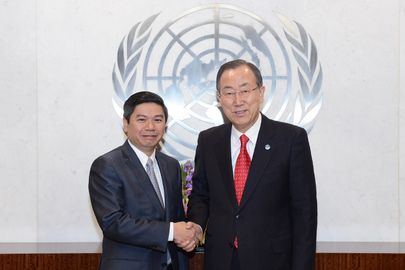 Farewell Call by Permanent Representative of Cambodia