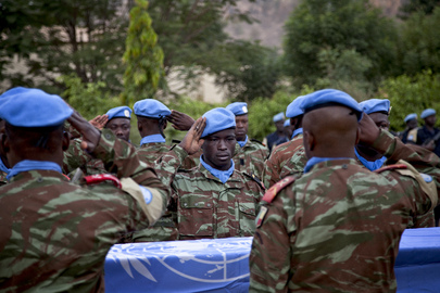 Ceremony for Fallen Peacekeepers of MINUSMA