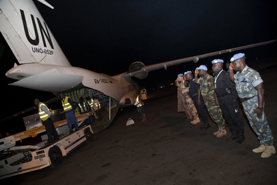 Injured and Remains of Fallen Peacekeepers Arrive in Bamako from Kidal