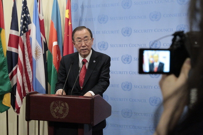SG Briefs Press on Security Council Resolution to Strengthen UNMISS