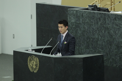 Fifth Committee Rapporteur Addresses General Assembly