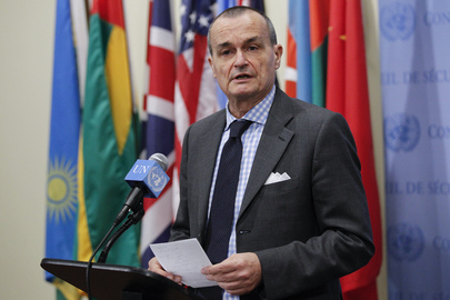 Security Council President Briefs Press on South Sudan Consultations