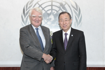 SG Meets with Chair of Global Compact Foundation