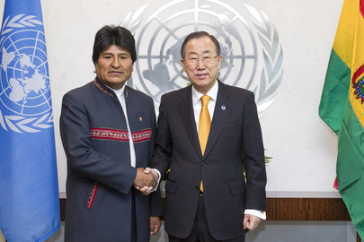 Secretary-General Meets President of Bolivia