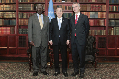 Secretary-General Meets His Special Envoys on Climate Change