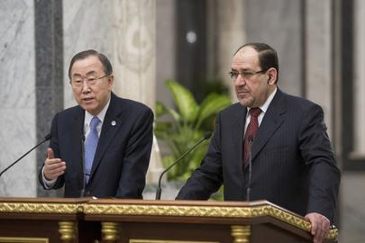 Secretary-General and Iraqi Prime Minister Brief the Press