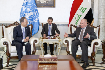 Secretary-General Meets With Speaker of Iraq's Council of Representatives