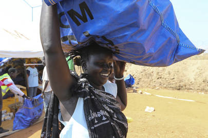 IOM Supplies Humanitarian Assistance Packages to IDPs