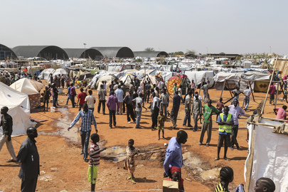UN Grounds in Juba Become IDP Camp for Thousands