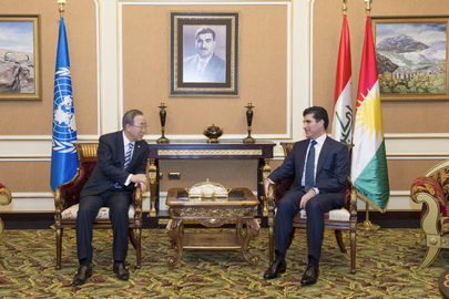 Secretary-General Meets with Prime Minister of Kurdistan