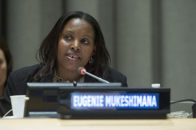 Survivor Speaks at Special Event Commemorating the Genocide in Rwanda