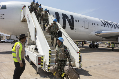 MINUSTAH Peacekeepers Arrive in Juba to Strengthen UNMISS Capacity