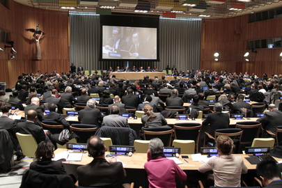 Secretary-General Briefs General Assembly on 2014 Challenges
