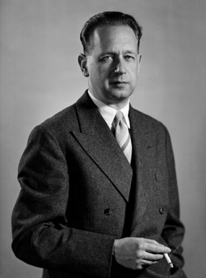 Portrait of Secretary-General Dag Hammarskjöld